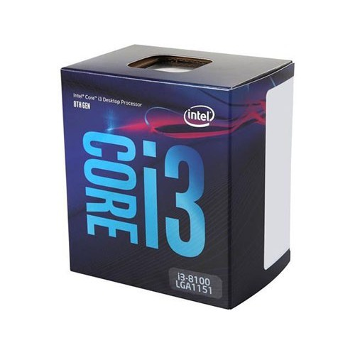 Procesador Intel Core I3 8100 3.6 GHZ