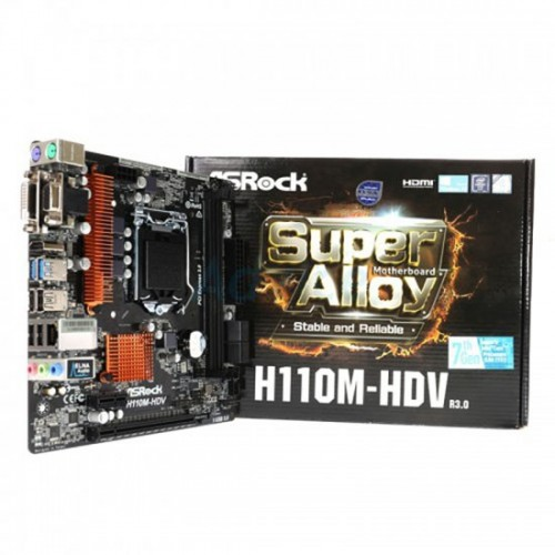 Board Asrock H110M-HDV