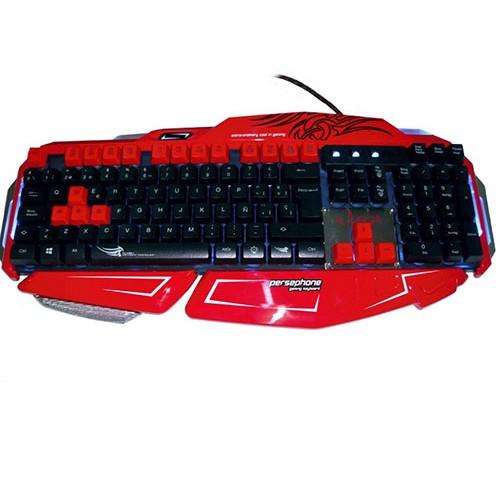Teclado Omega Gaming Sensacion Mecanica KB-804 Persephone USB
