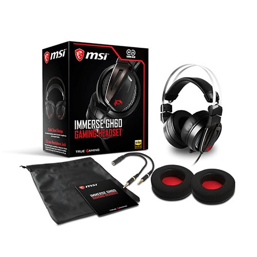 Diadema Gamer MSI Immerse GH60 1 Gaming Headset