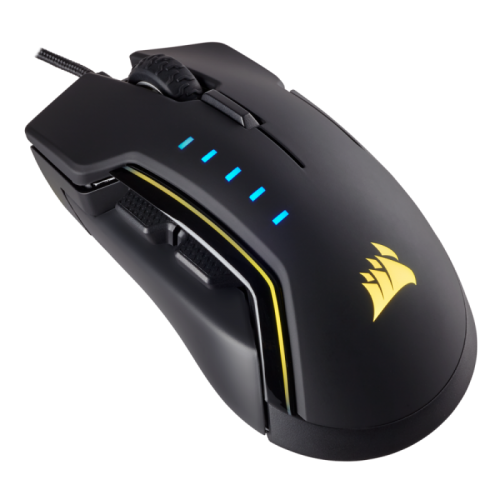 Mouse Corsair GLAIVE RGB Gaming Black